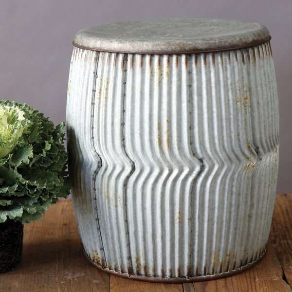 Wadlington Metal Stool by Gracie Oaks
