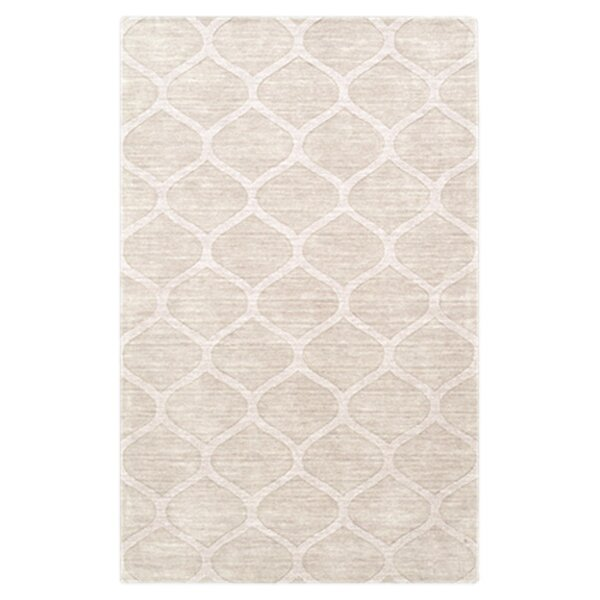 Villegas Winter White Area Rug by Wrought Studio