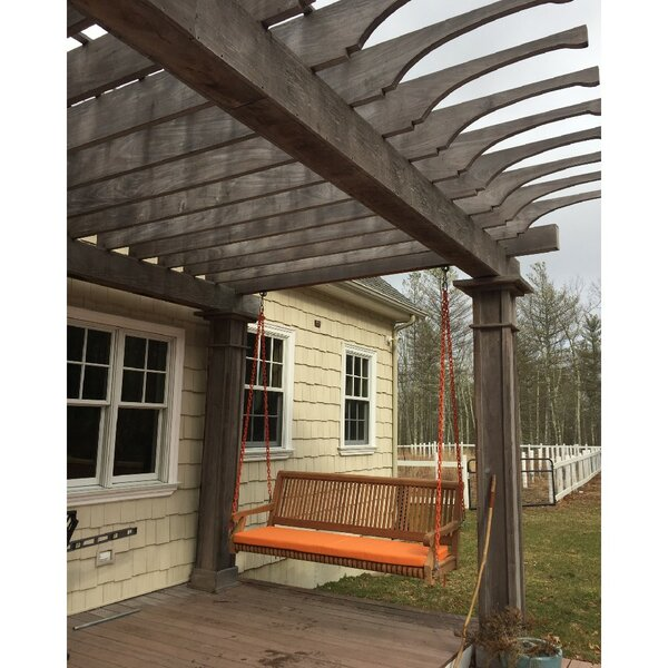 Grade A Teak Porch Swing by Bay Isle Home