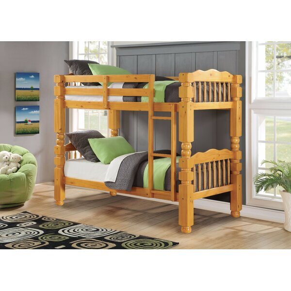 Shabana Twin over Twin Bunk Bed by Harriet Bee