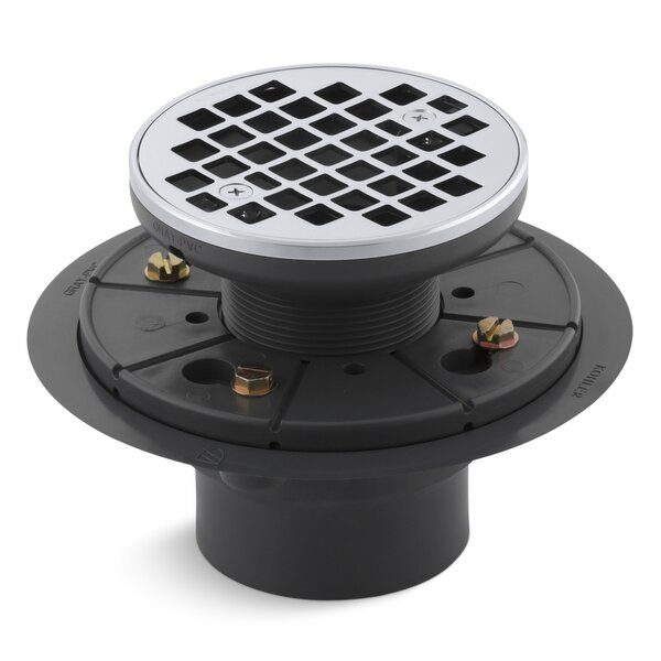 Round Design 3 Grid Shower Drain by Kohler