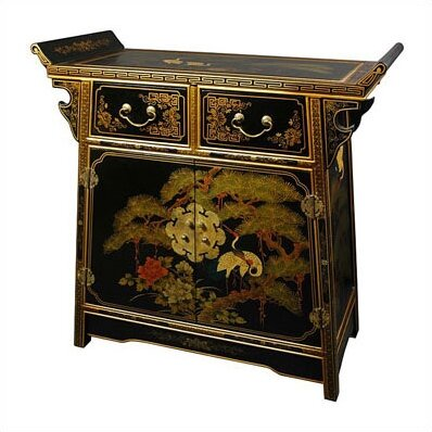 Camille 2 Drawer Altar Accent Cabinet by World Menagerie