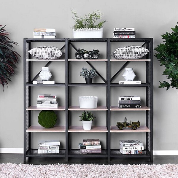 Daryl Segovia Standard Bookcase By Gracie Oaks