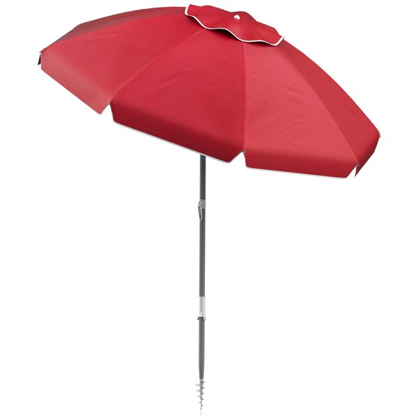 Stanhope Tilting Beach Umbrella By Winston Porter