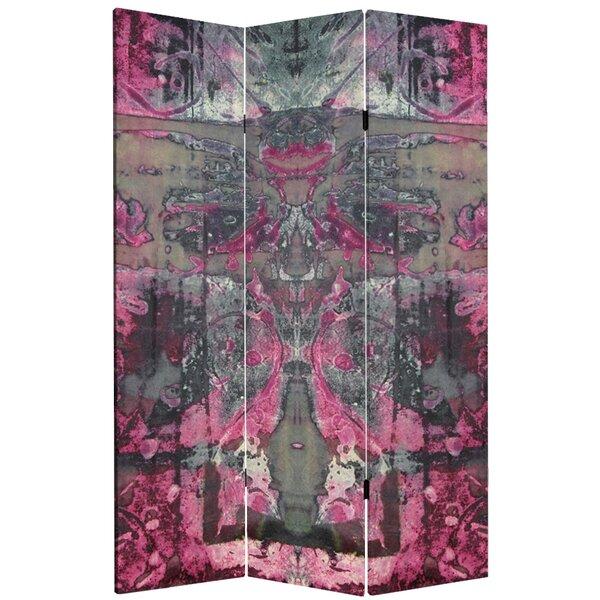 Sabbagh Cosmic Debris 3 Panel Room Divider by Bloomsbury Market