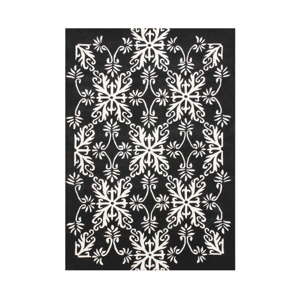 Kaori Hand Tufted Wool Off-White Area Rug by Rosdorf Park
