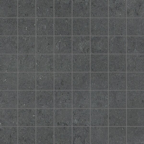 1.5 x 1.5 Porcelain Mosaic Tile in Matte Pebble by Parvatile