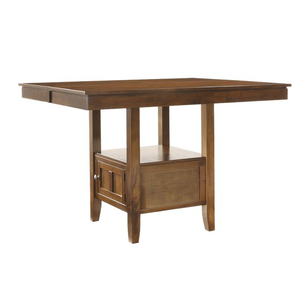 Dahlonega Solid Wood Dining Table by Charlton Home