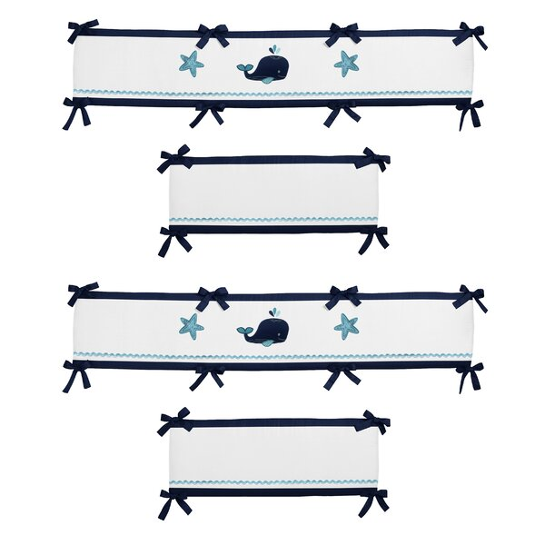 Whale Crib Bumper by Sweet Jojo Designs