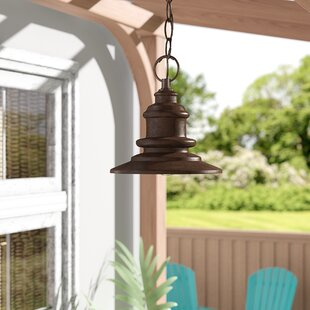 Price comparison Griffin 1-Light Hazelnut Bronze Mini Pendant By Beachcrest Home