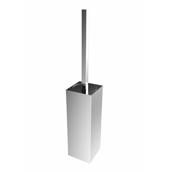 Spero Wall Mounted Toilet Brush and Holder by Orren EllisSpero Wall Mounted Toilet Brush and Holder by Orren Ellis