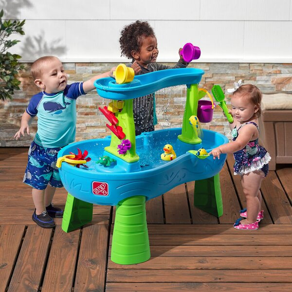 Rain Showers Splash Pond Sand and Water Table by S