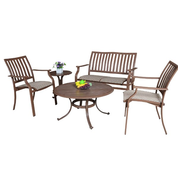 Island Breeze 5 Piece Sofa Set by Panama Jack Outdoor