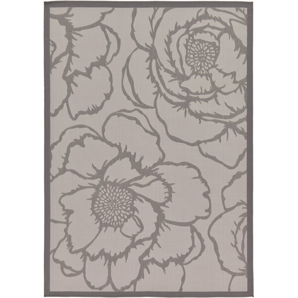Barriga Gray Indoor/Outdoor Area Rug By August Grove