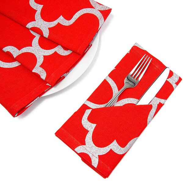 Moroccan Napkin (Set of 4) by Linen Tablecloth