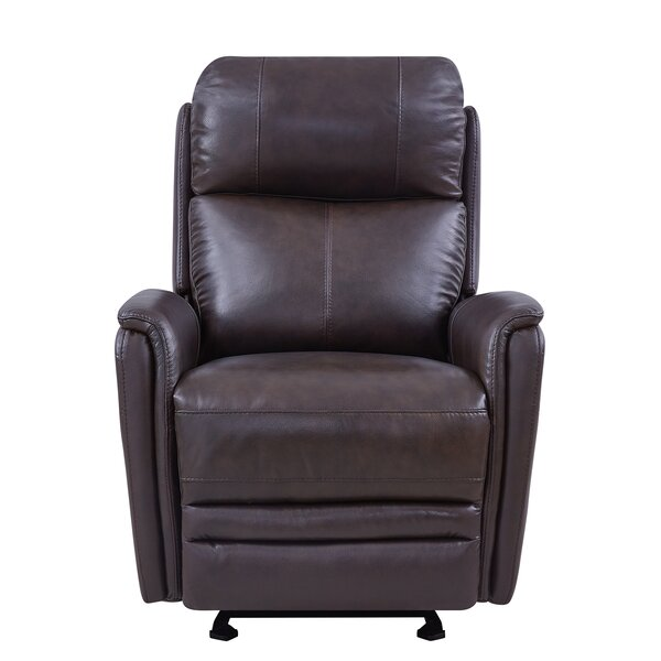 Yoshida Contemporary Leather Power Recliner by Red Barrel Studio Red Barrel Studio