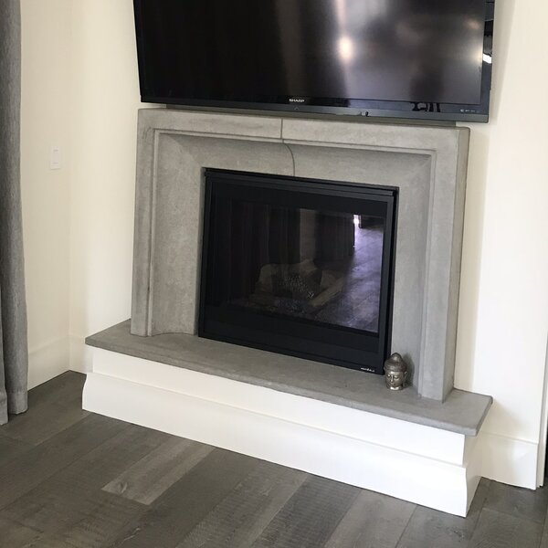 Aria Fireplace Surround By Los Angeles Cast Stone
