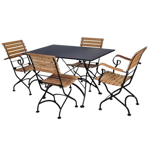 European Café 5 Piece Dining Set by Furniture Designhouse