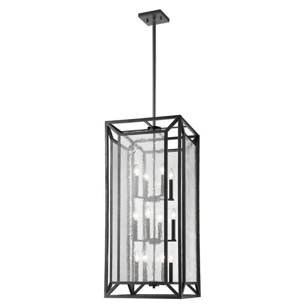 Belkis 12 - Light Unique / Statement Rectangle / Square Chandelier by Brayden Studio Brayden Studio