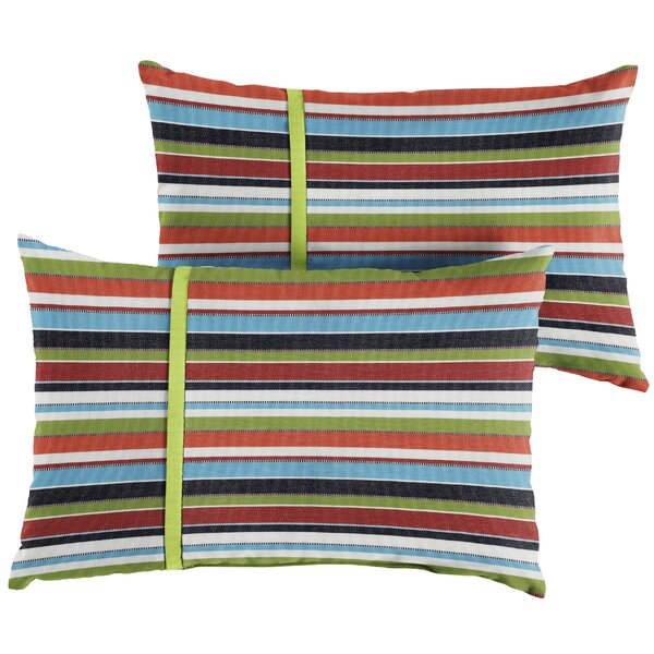 Vanhoy Indoor/Outdoor Lumbar Pillow (Set of 2) by Red Barrel Studio