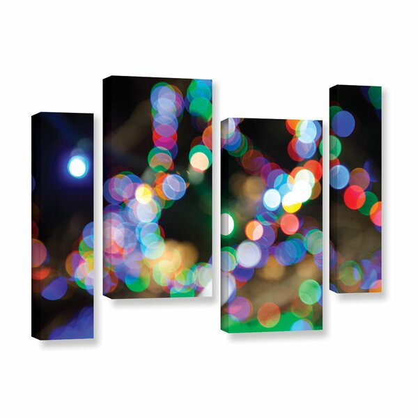 Bokeh 2 by Cody York 4 Piece Graphic Art on Wrapped Canvas Set by ArtWall