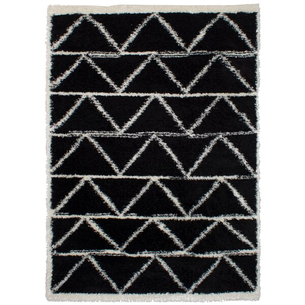 Chesterhill Black Area Rug by Foundry Select
