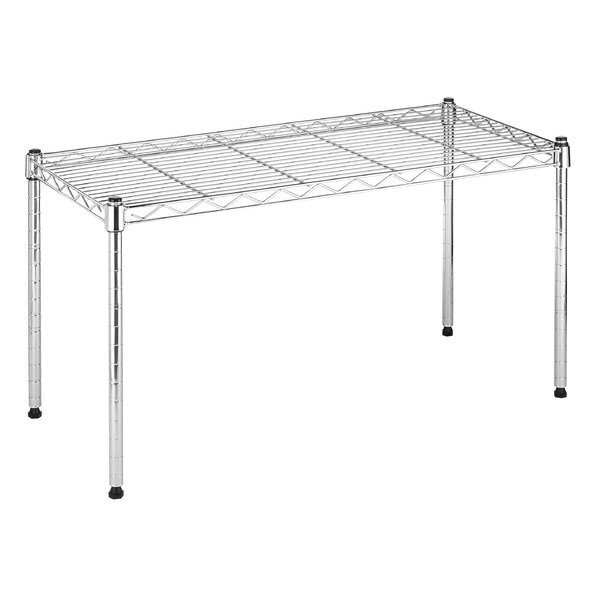 Supreme Wide Stacking Shelf 14 Shelving Unit by Whitmor, Inc