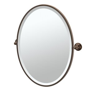 Tiara Framed Oval Mirror