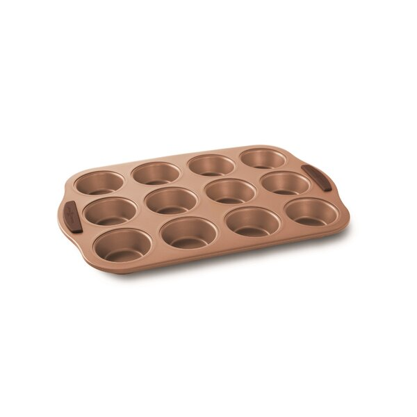12 Cup Non-Stick Freshly Baked Muffin Pan by Nordic Ware