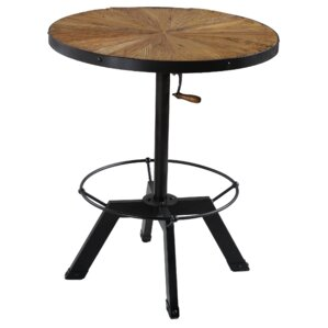Palisades Adjustable Height Pub Table by Reual James