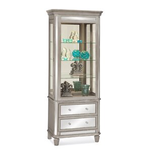 Presidio Lighted China Cabinet by Philip Reinisch Co.
