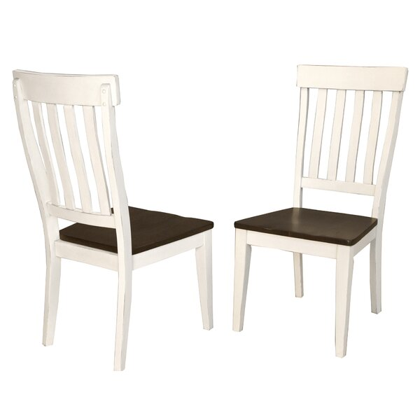 Aguero Solid Wood Dining Chair (Set of 2) by Canora Grey