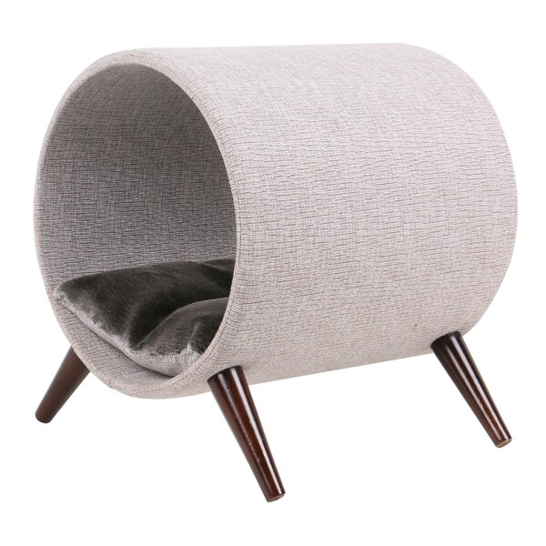 Gypsy Tunnel Bed with Wood Leg by Tucker Murphy Pet