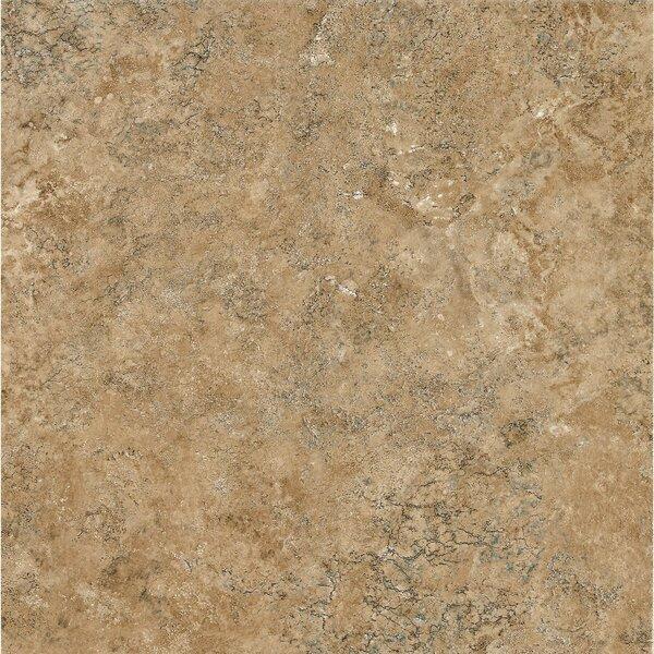 Alterna Multistone 8 x 8 x 4.064mm Luxury Vinyl Tile in Caramel Gold by Armstrong Flooring