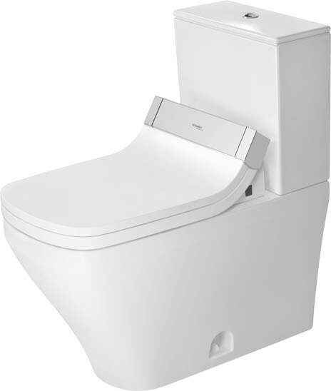 DuraStyle 1.28 GPF (Water Efficient) Elongated Two-Piece Toilet with Glazed Surface (Seat Not Included) by Duravit