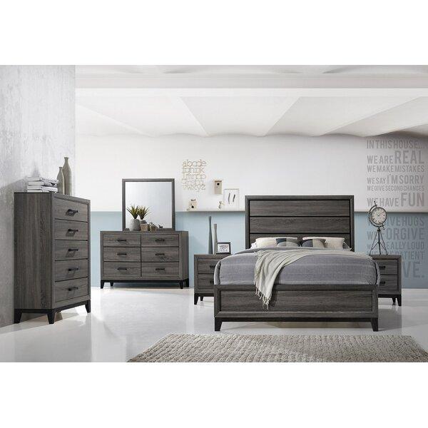 Wallis Standard Bed by Ebern Designs