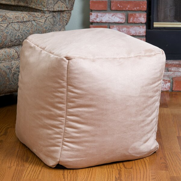 Whitney Bean Bag Cube Ottoman by Home Loft Concepts