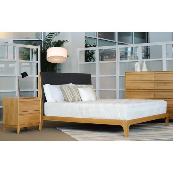 Rizma Upholstered Standard Bed by Copeland Furniture