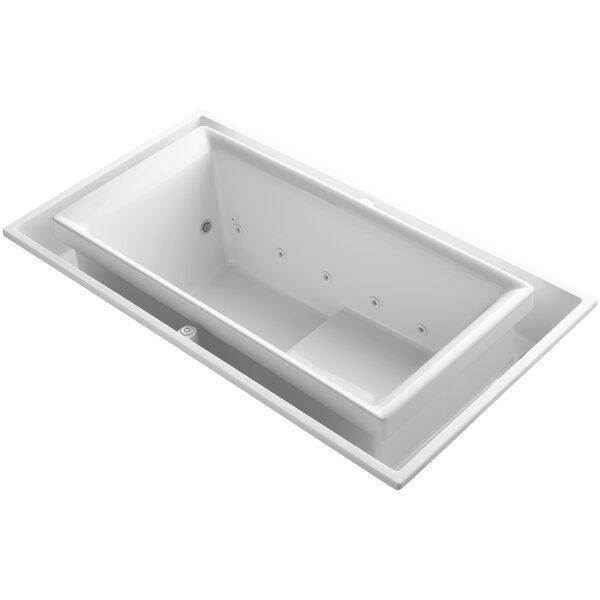 Sok Drop-In Effervescence Bath with Chromatherapy and Right-Hand Drain by Kohler
