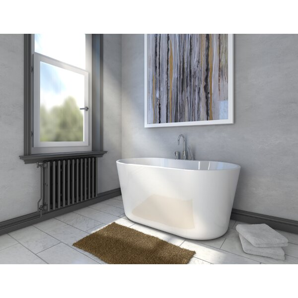 56 x 31.4 Freestanding Soaking Bathtub by A&E Bath