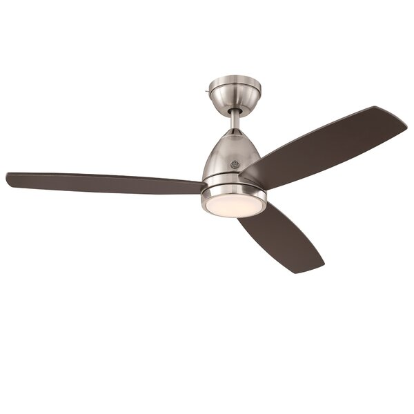 52 Skyplug Savanna 3 Blade LED Ceiling Fan with Remote by GE Lighting