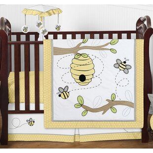 Find for Honey Bee 4 Piece Crib Bedding Set By Sweet Jojo Designs