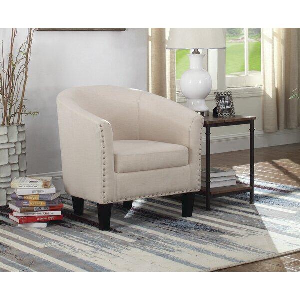 Caples Fabric Barrel Chair by Brayden Studio