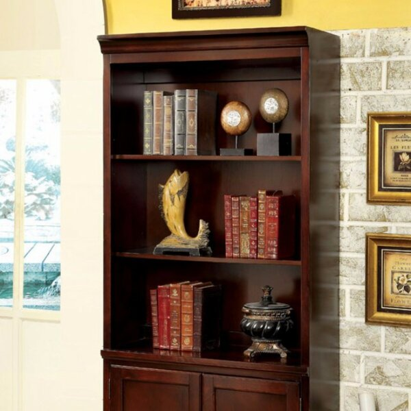 Ballycraigy Transitional Standard Bookcase by Canora Grey