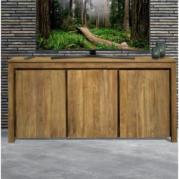 Leisa Recycled Teak 3 Door Sideboard by Loon Peak Loon Peak