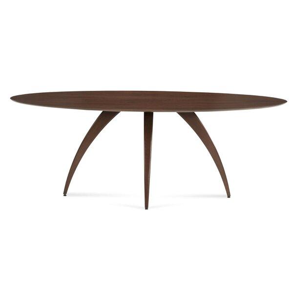 Cullum Ellipse Solid Wood Dining Table by Corrigan Studio