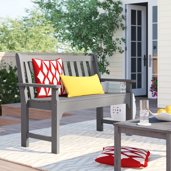 Polywood® Modern Plastic Garden Bench By Sol 72 Outdoor by Sol 72 Outdoor Purchase