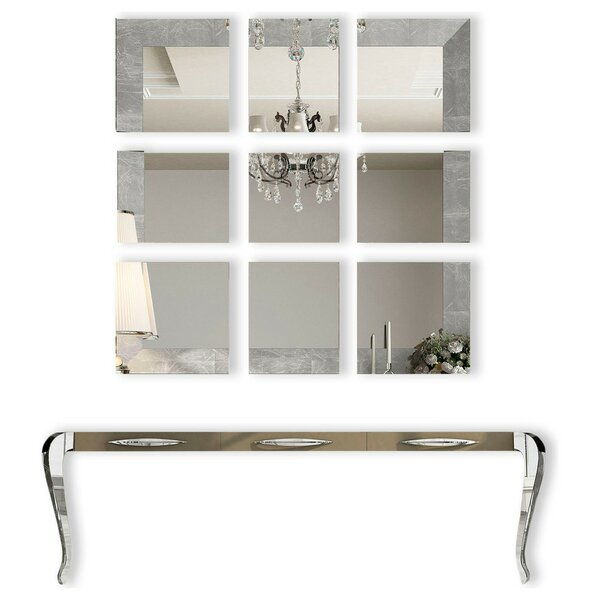 Fernwood 118 Console Table and Mirror Set