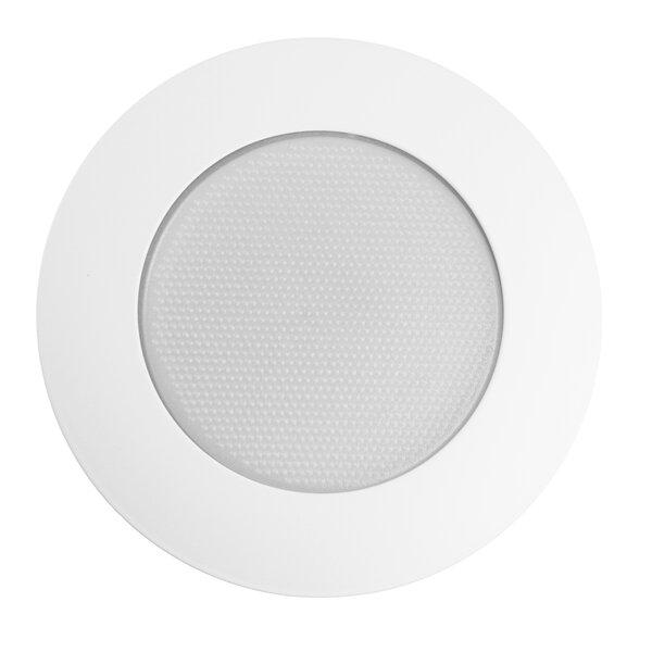 Metal Flat Albalite Shower 6 Recessed Trim by NICOR Lighting