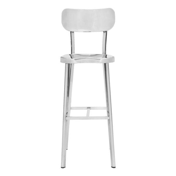 Rizzuto 29.5 Bar Stool by Brayden Studio